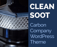 Clean Soot - Carbon Company WordPress Theme & Template