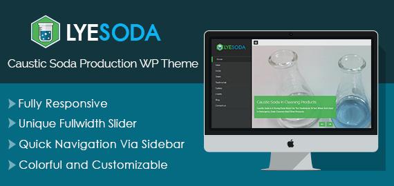 Caustic Soda Production WordPress Theme