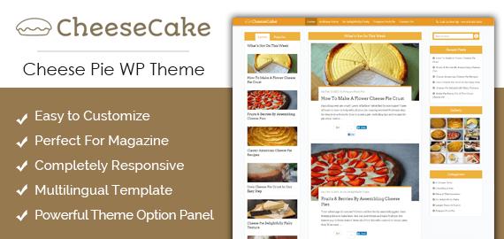 Cheese Pie WordPress Theme