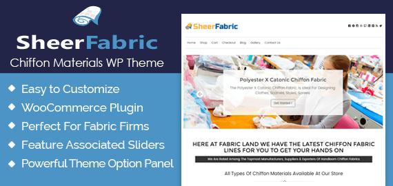Chiffon Materials WordPress Theme