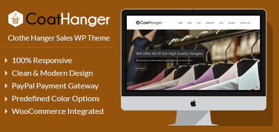 Coat Hanger – Clothes Hanger Sales WordPress Theme