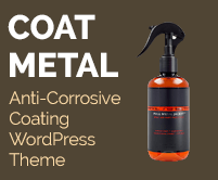 Coat Metal - Anti-Corrosive Coating WordPress Theme & Template