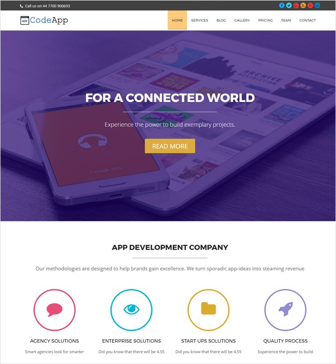 CodeaApp WP Theme