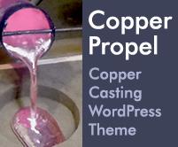Copper Propel - Copper Casting WordPress Theme & Template
