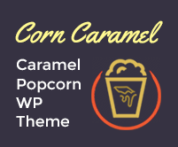 Corn Caramel - Caramel Popcorn WordPress Theme & Template