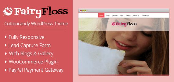 Cottoncandy WordPress Theme