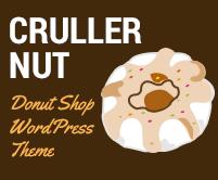 Cruller Nut - Donut Shop WordPress Theme & Template