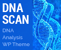 DNA Scan - DNA Analysis WordPress Theme & Template
