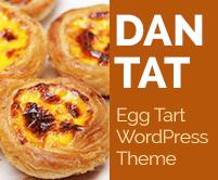 Dan Tat - Egg Tart WordPress Theme & Template