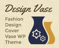 Design Vase - Fashion Design Cover Vase WordPress Theme & Template