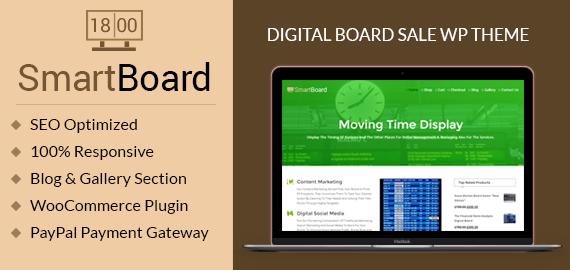 Smart Board – Digital Board Sale WordPress Theme