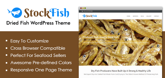 Dried Fish WordPress Theme