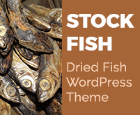 Stock Fish - Dried Fish WordPress Theme & Template