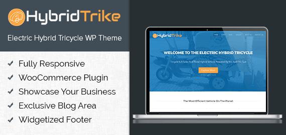 [HybridTrike] Electric Hybrid Tricycle WordPress Theme