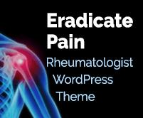 Eradicate Pain - Rheumatologist WordPress Theme & Template