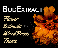 Bud Extract - Flower Extracts WordPress Theme & Template