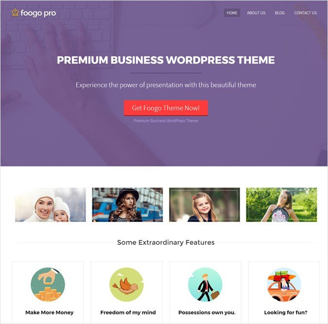 FoogoPro WordPress Theme