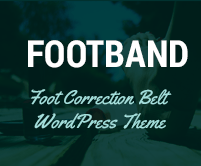 Foot Band - Foot Correction Belt WordPress Theme & Template