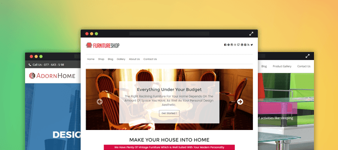 4+ Best Furniture WordPress Themes For Carpenters & Interior Designers