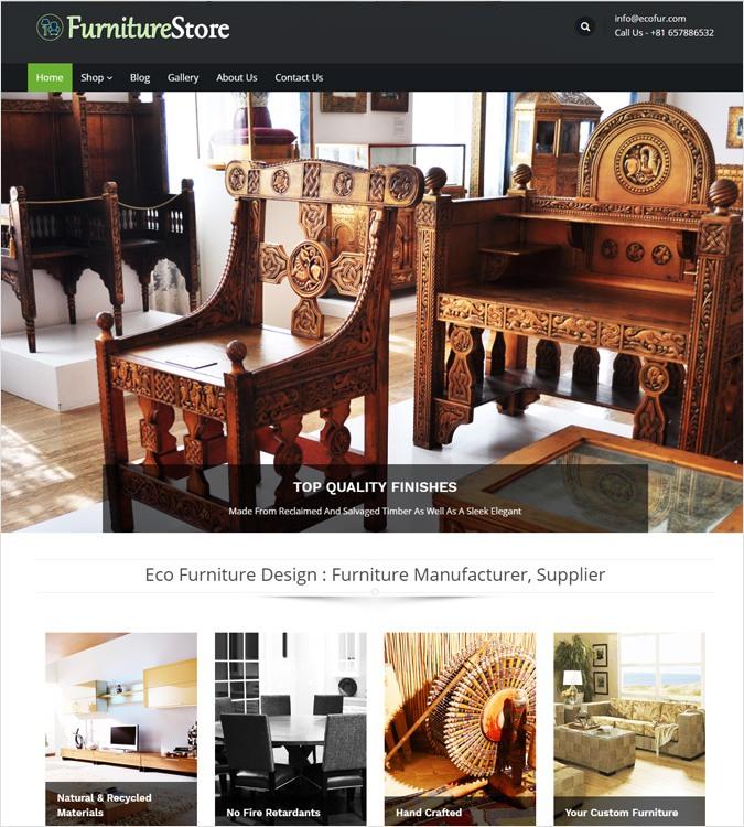 FurnitureStore WP Theme