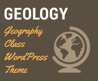 Geology - Geography Class WordPress Theme & Template