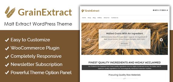 Malt Extract WordPress Theme