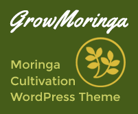 Grow Moringa - Moringa Cultivation WordPress Theme & Template