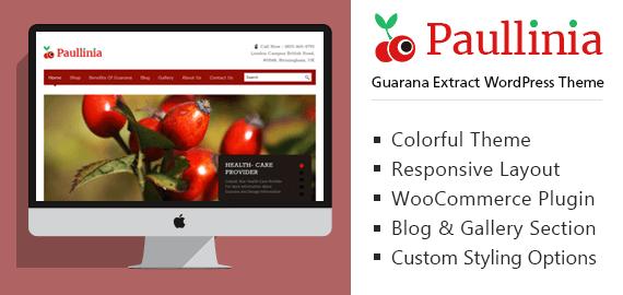Guarana Extract WordPress Theme
