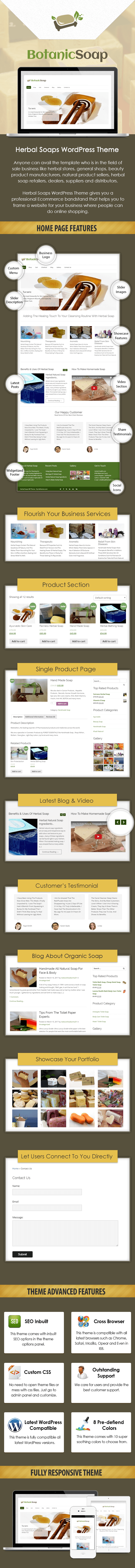 Herbal Soaps WP Theme