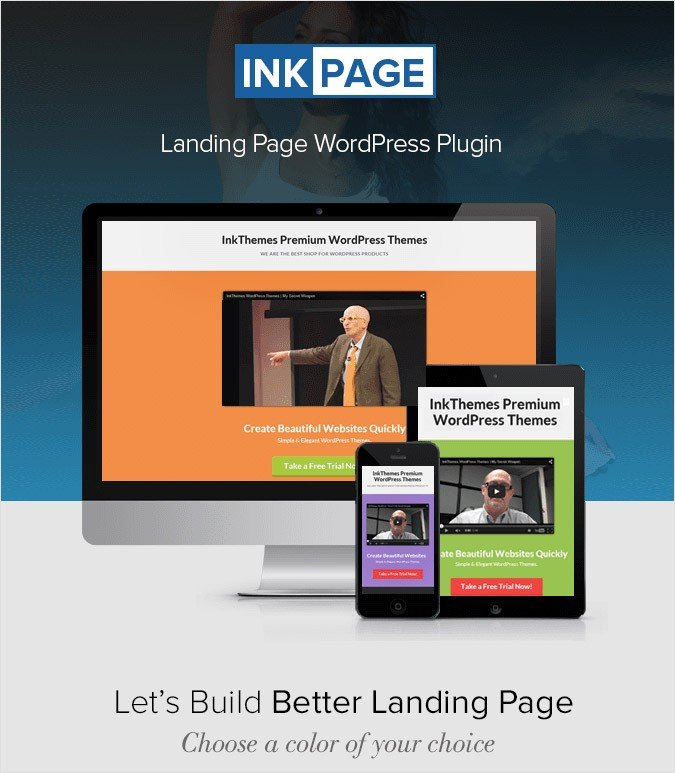 InkPage WP Plugin