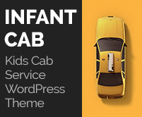 Infant Cab - Kids Cab Service WordPress Theme & Template