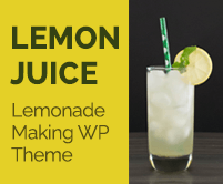 Lemon Juice - Lemonade Making WordPress Theme & Template