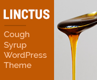 Linctus - Cough Syrup WordPress Theme & Template