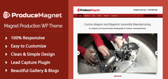 [ProduceMagnet] Magnet Production WordPress Theme