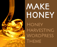 Make Honey - Honey Harvesting WordPress Theme & Template