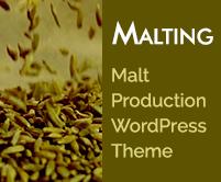 Malting - Malt Production WordPress Theme & Template