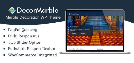 Decor Marble – Marble Decoration WordPress Theme