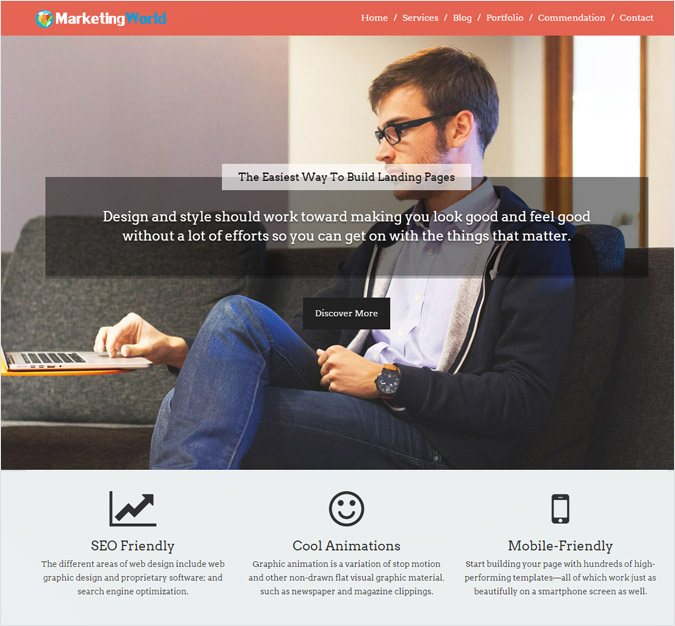MarketingWorld WP Theme