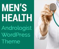 Men's Health - Andrologist WordPress Theme & Template