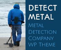 Detect Metal - Metal Detection Company WordPress Theme & Template