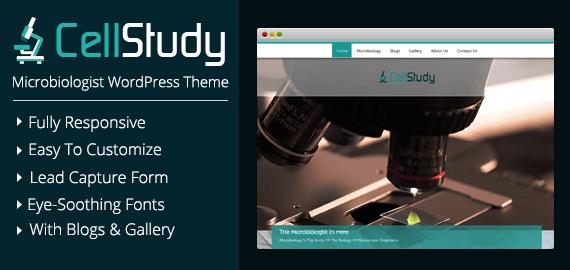 Microbiologist WordPress Theme