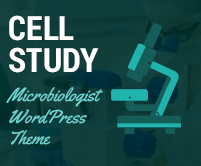 Cell Study - Microbiologist WordPress Theme & Template