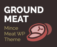 Ground Meat - Mince Meat WordPress Theme & Template