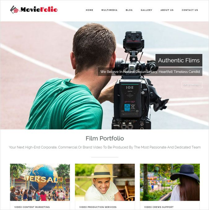 MovieFolio WP Theme