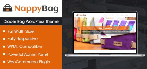 Diaper Bag WordPress Theme
