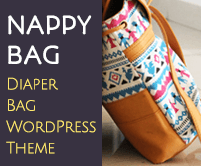 Nappy Bag - Diaper Bag WordPress Theme & Template