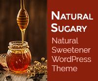 Natural Sugary - Natural Sweetener WordPress Theme & Template