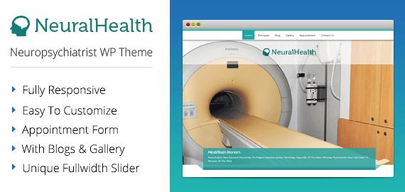 [NeuralHealth] Neuropsychiatrist WordPress Theme