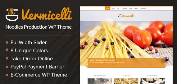 Noodles Production WordPress Theme
