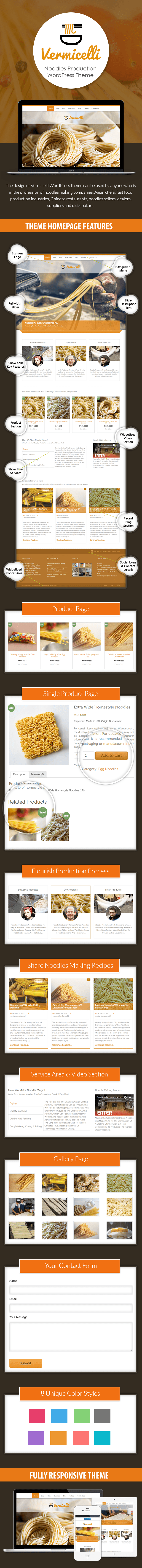 Noodles Production WP Theme
